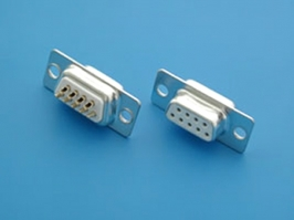 DB9F, DB-9F, D-SUB Female connector